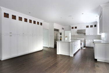 Photograph of Kitchen at 22 Hedgerow Lane, Westwood MA