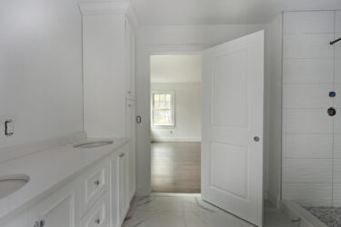 Photograph of Master Bathroom at 25 Hedgerow Lane, Westwood MA