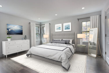 Photograph of Master Bedroom at 25 Hedgerow Lane, Westwood MA