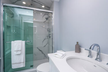 Photograph of Bathroom at 30 Hedgerow Lane, Westwood MA