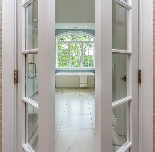 Photograph of Bathroom at 30 Hedgerow Lane, Westwood MA