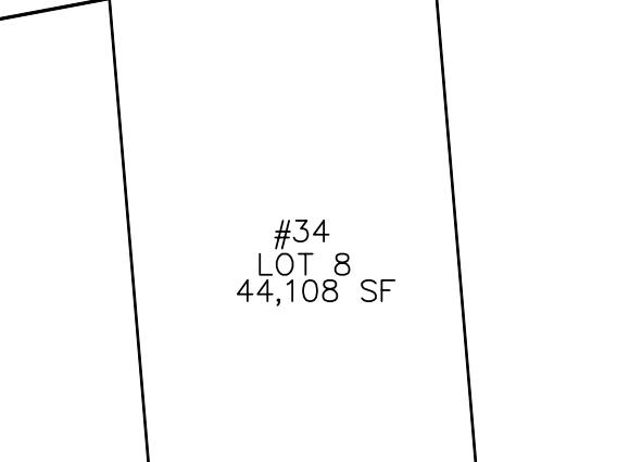 Plot Plan for 34 Hedgerow Lane, Westwood MA